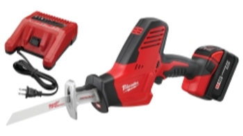 Milwaukee M18 HACKZALL Reciprocating Saw w/ (1) XC Extended Battery Kit