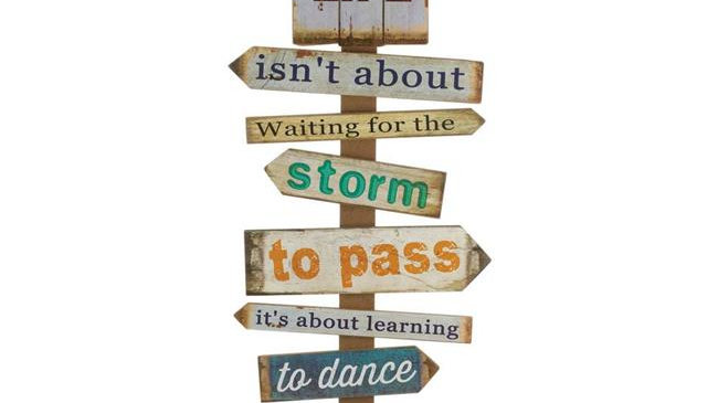 Accent Plus 10018810 Daily Dose Of Inspiration Wall Decor