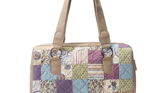 American Heritage Textiles  Tess Handbag; Carnival; Multi Color