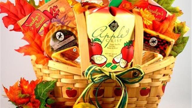 AuAb Autumn Abundance Gift Basket