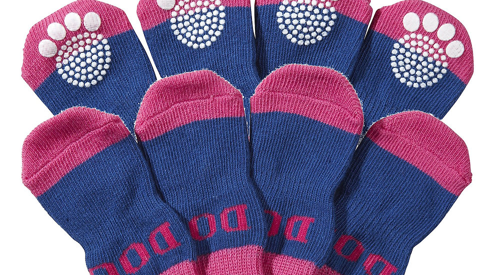 Pet Socks W/ Rubberized Soles