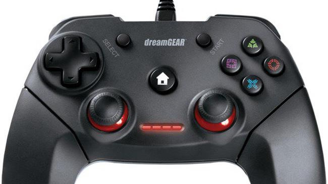 Dreamgear RA51118 Shadow Wired Controller for PS3 & PC