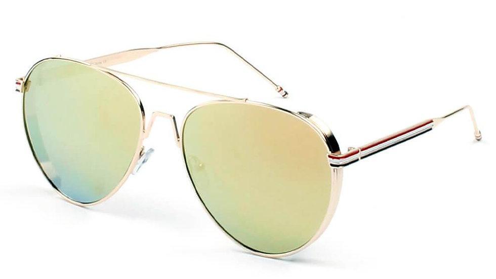 EASTON   D36 - Classic Patriotic Teardrop Aviator Sunglasses