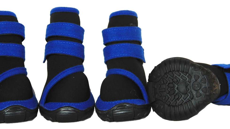 Performance-Coned Premium Stretch Supportive Pet Shoes - Set Of 4