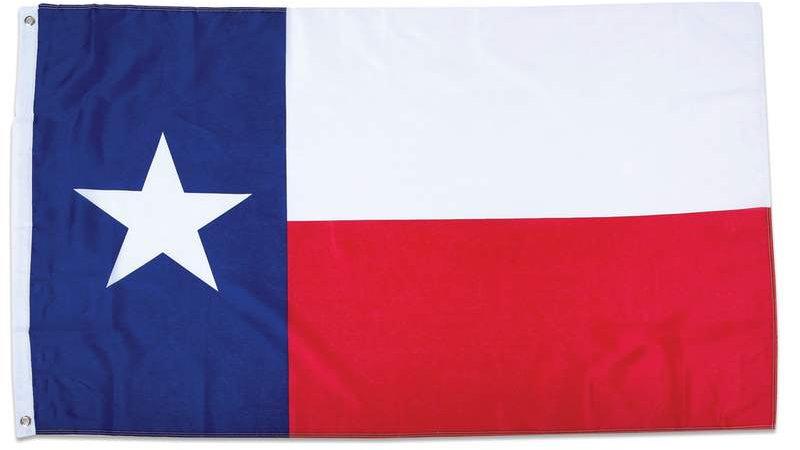 """3"""" X 5""""  TEXAS FLAG"""