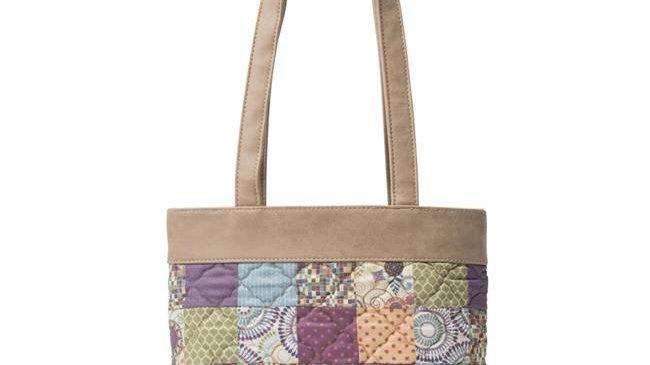 American Heritage Textiles Abby Handbag; Carnival; Multi Color