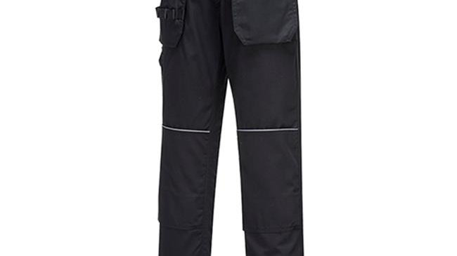 Portwest C720BKT38 Tradesman Holster Trousers - Size 38; Fit-T
