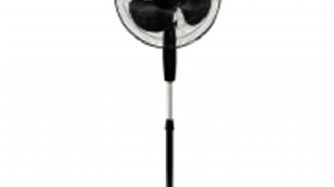 Impress IM-717B Handi-Fan 16 Inch Oscillating Stand Fan Black
