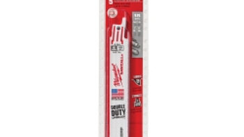 Milwaukee 6 in. 18 TPI SAWZALL Saw Blade (5-Pack)