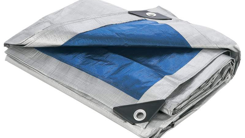 "18 X 24"" ALL PURPOSE BLUE TARP"