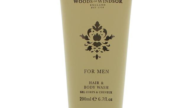 Woods of Windsor amwow67bw 6.7 oz Hair & Body Wash for Men