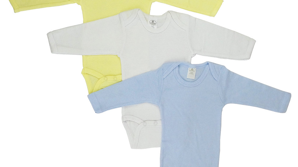 Bambini Boy's Pastel Long Sleeve Onezie