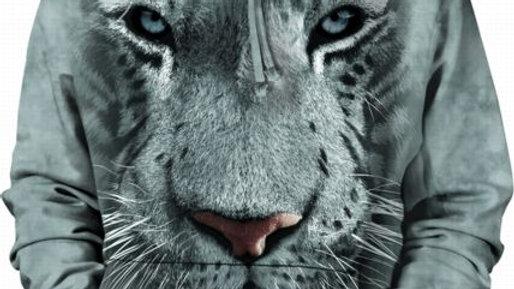 WHITE TIGER FACE HSW - M