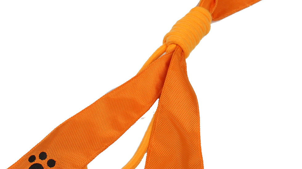Extreme Bow' Squeak Pet Rope Toy