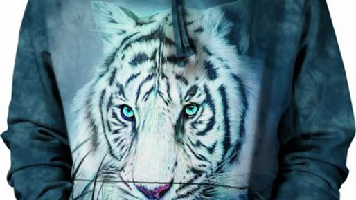 THOUGHTFUL WHITE TIGER - XL