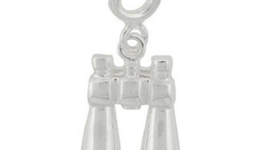 Sterling Silver Binoculars Charm