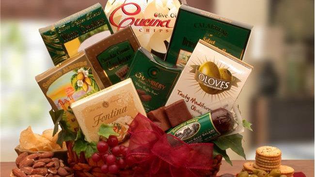 Gift Basket Drop 810972 The Vintage Gourmet Gift basket
