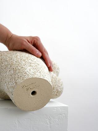 Cream sculpture