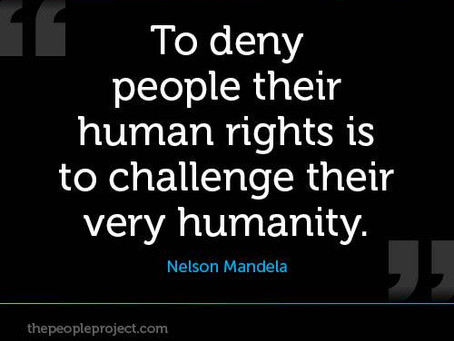 Offering dignity on Human Rights Day