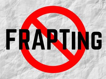 Providing a safe listening space: No FRAPTing