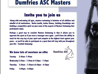Dumfries ASC Masters