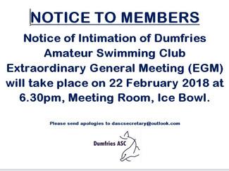 DASC EGM 22nd February 2018