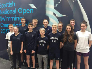 National Events for Dumfries Swimmers