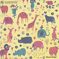 コースター sweet animals yellow.jpg
