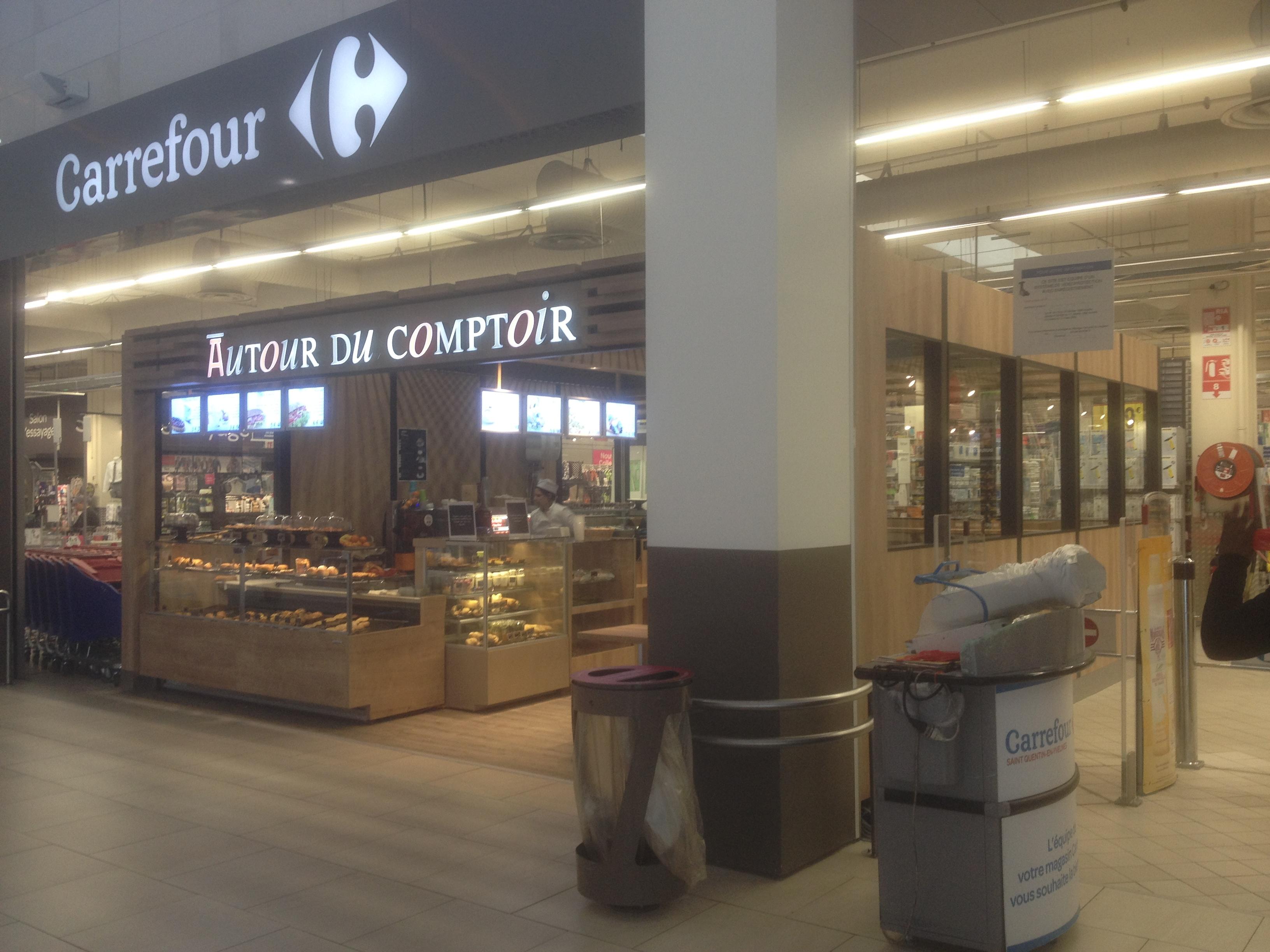 AUTOUR DU COMPTOIR - ST QUENTIN