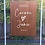 Thumbnail: Stained Plywood Sign