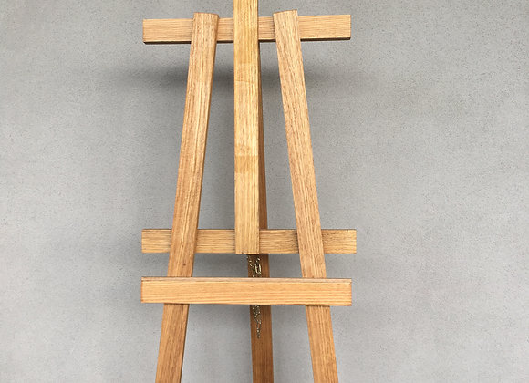 Stained Timber Easel