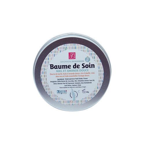 BAUME DE SOIN BIOKANKAN / 30g/ Karité, miel & amande douce