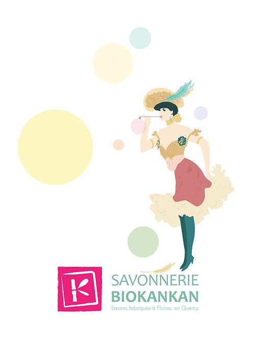 Carte postale Savonnerie BioKankan