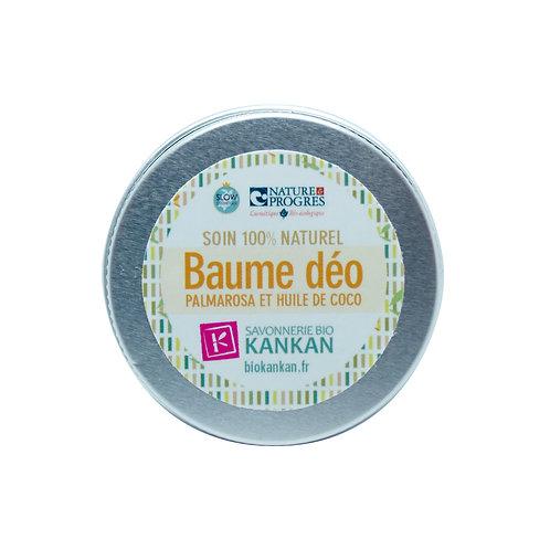 BAUME DEODORANT BIOKANKAN /15g/ Palmarosa & huile de coco