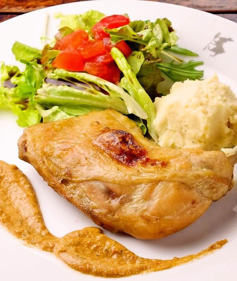 鶏モモ肉もコンフィー  ¥1200