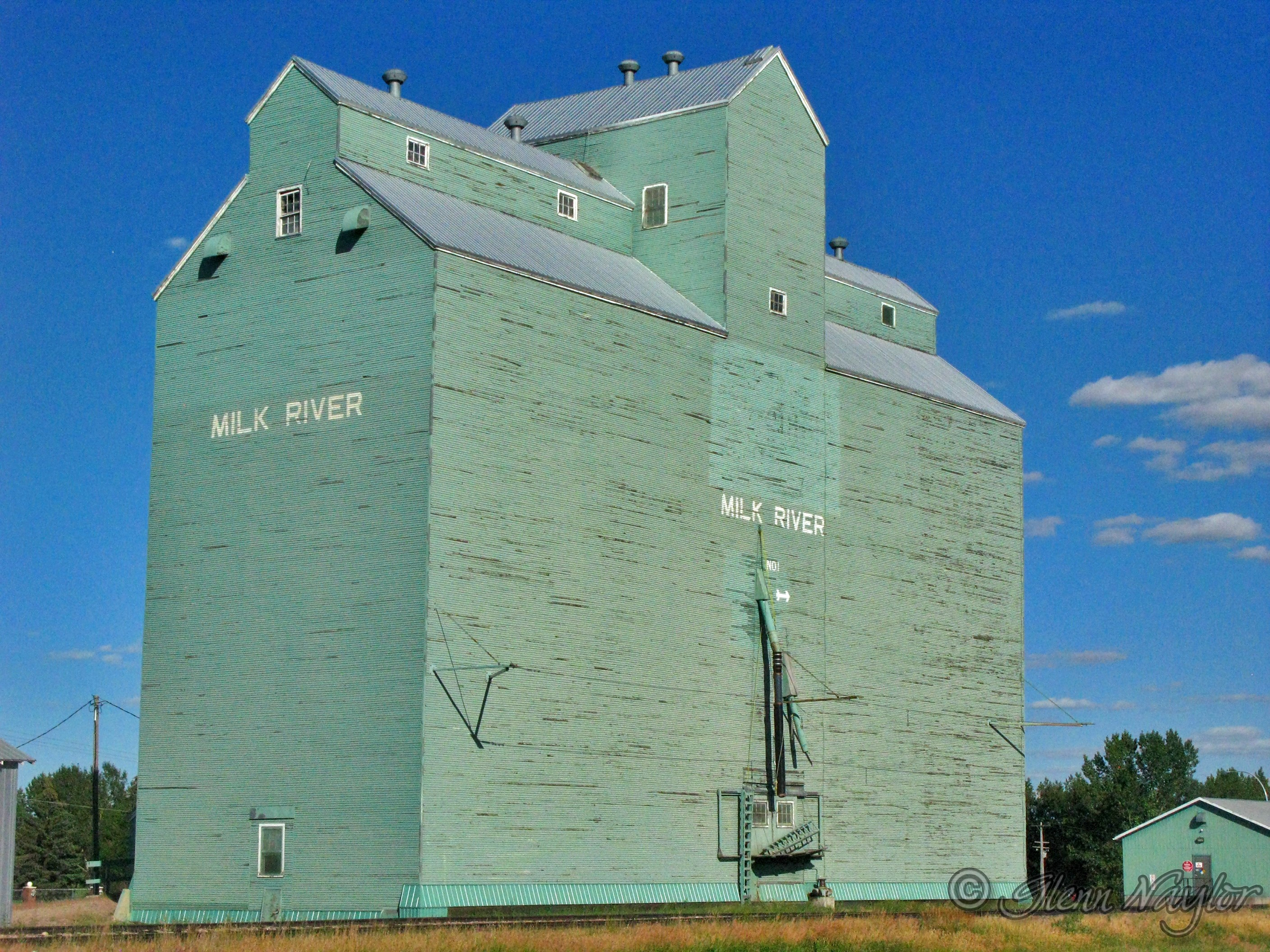 Grain elevator, Milk River, Alberta.