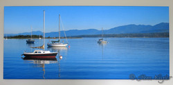 Comox Harbour, canvas wrap