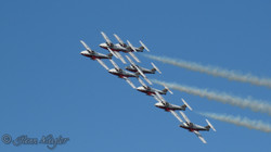 Snowbirds, precision flying team 3