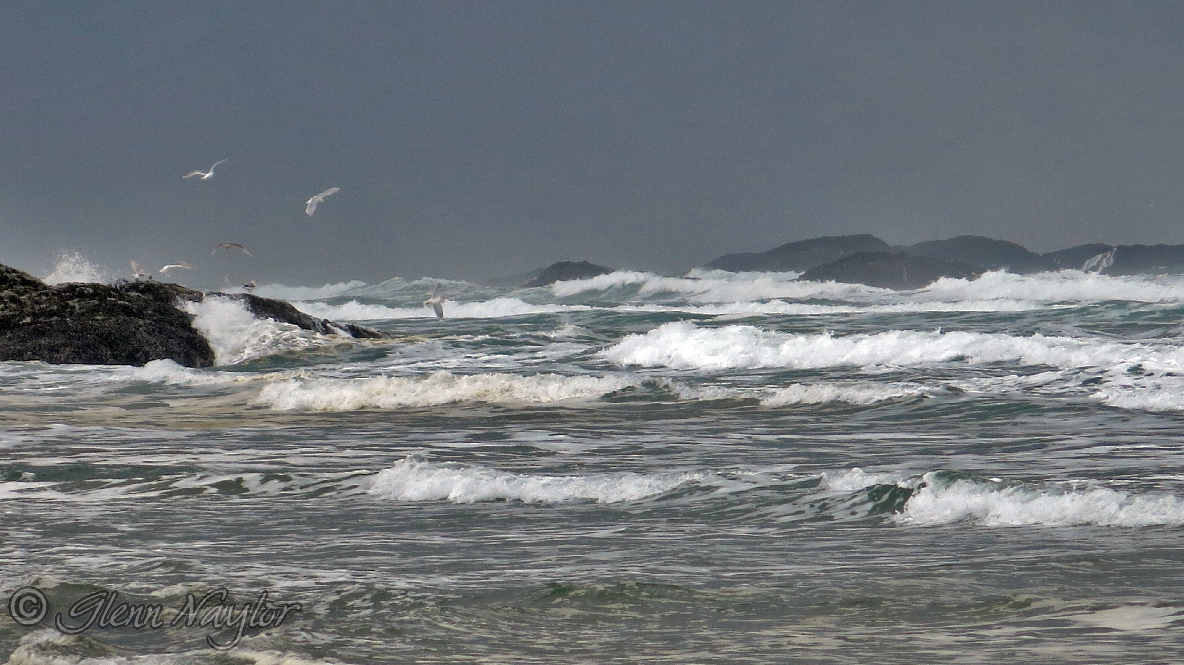 Long Beach Storm, Tofino, BC