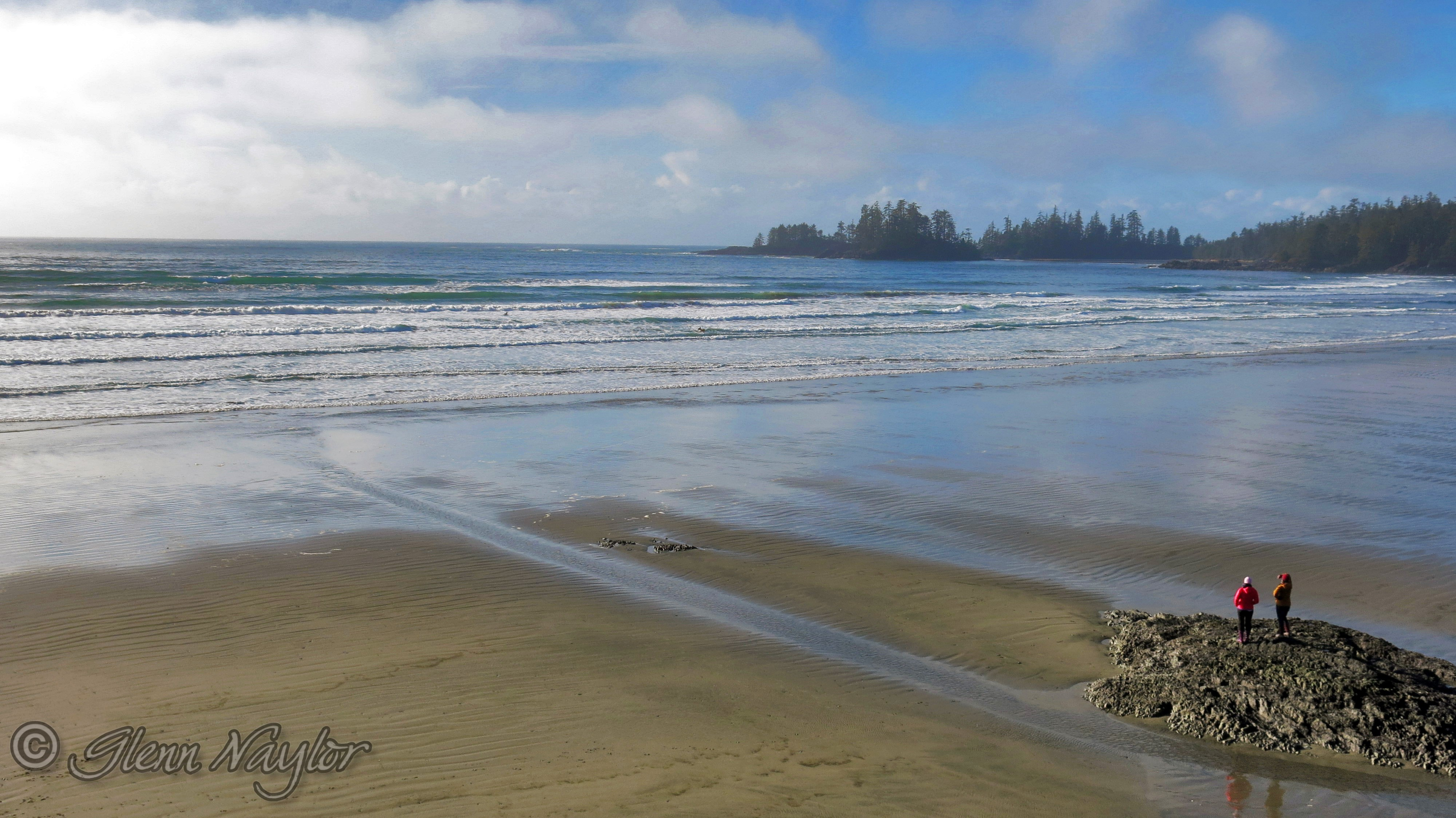 Looking out to sea, Tofino BC