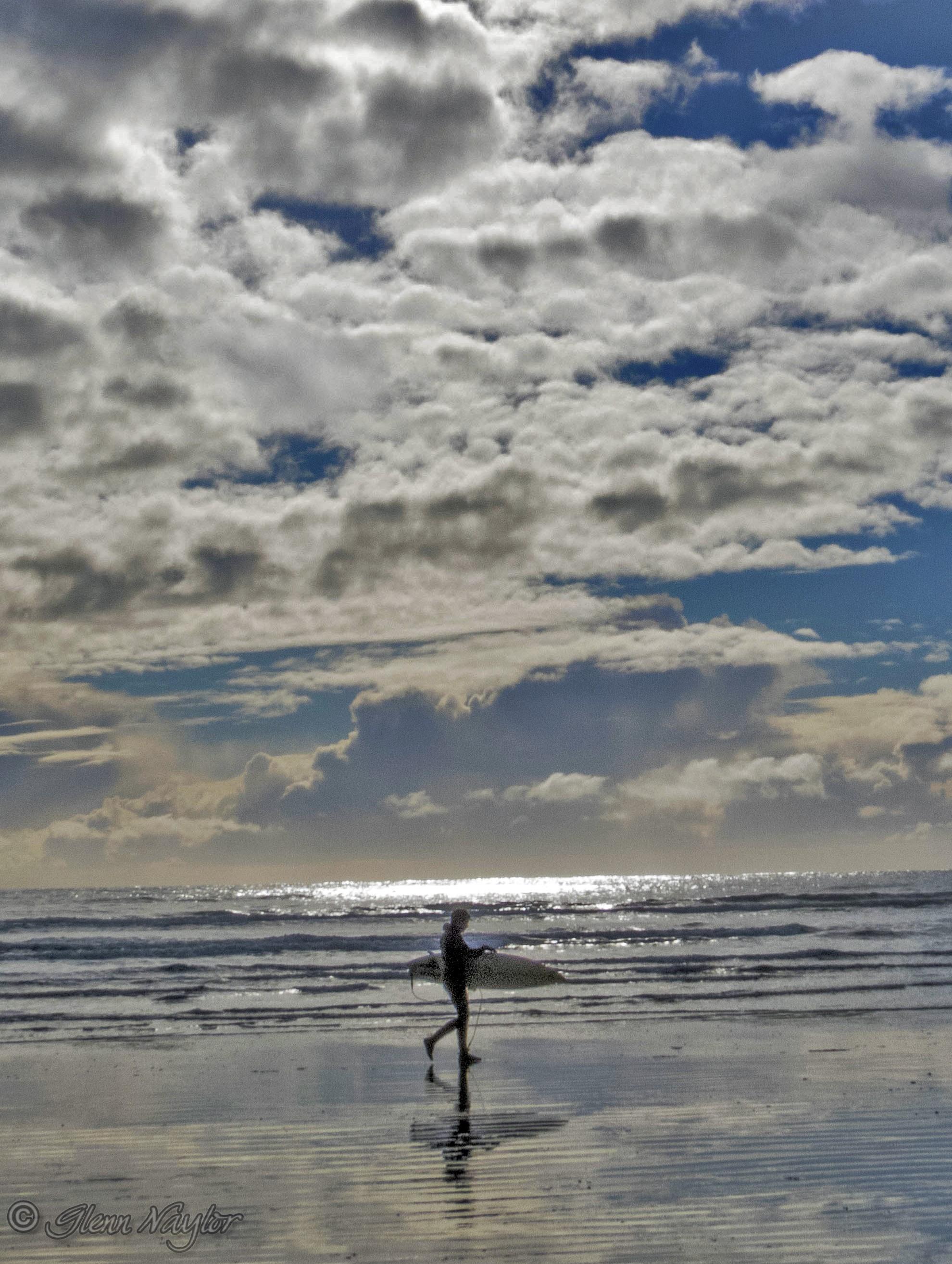 Surfer, Long Beach, Tofino BC