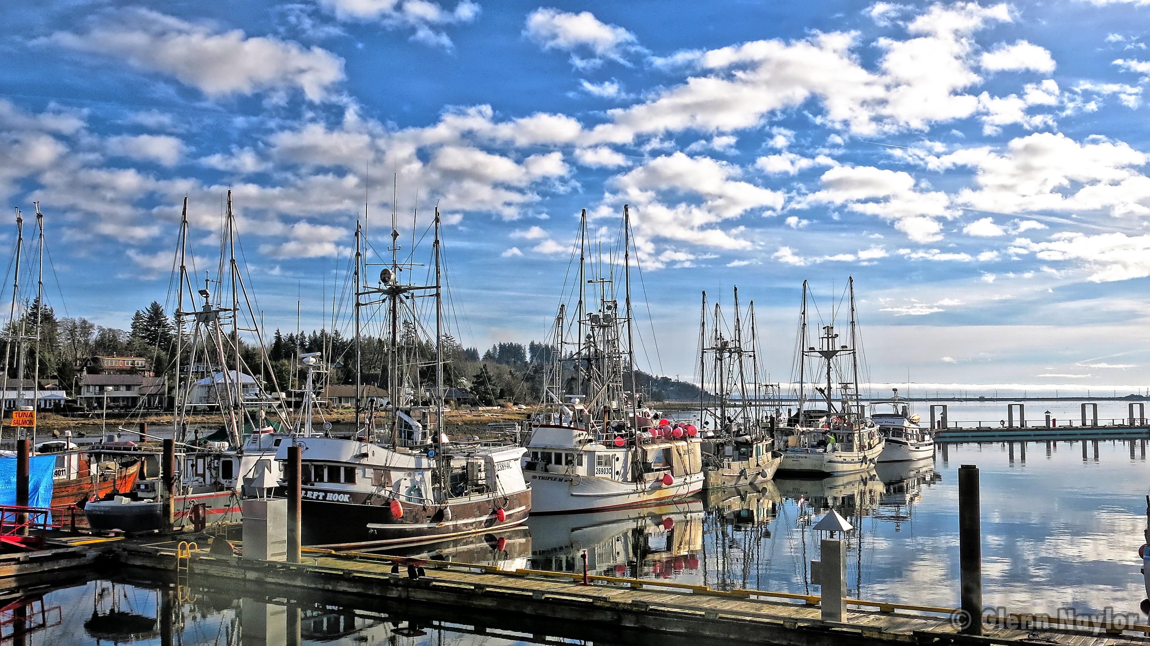 Fisherman's Wharf, Comox marina