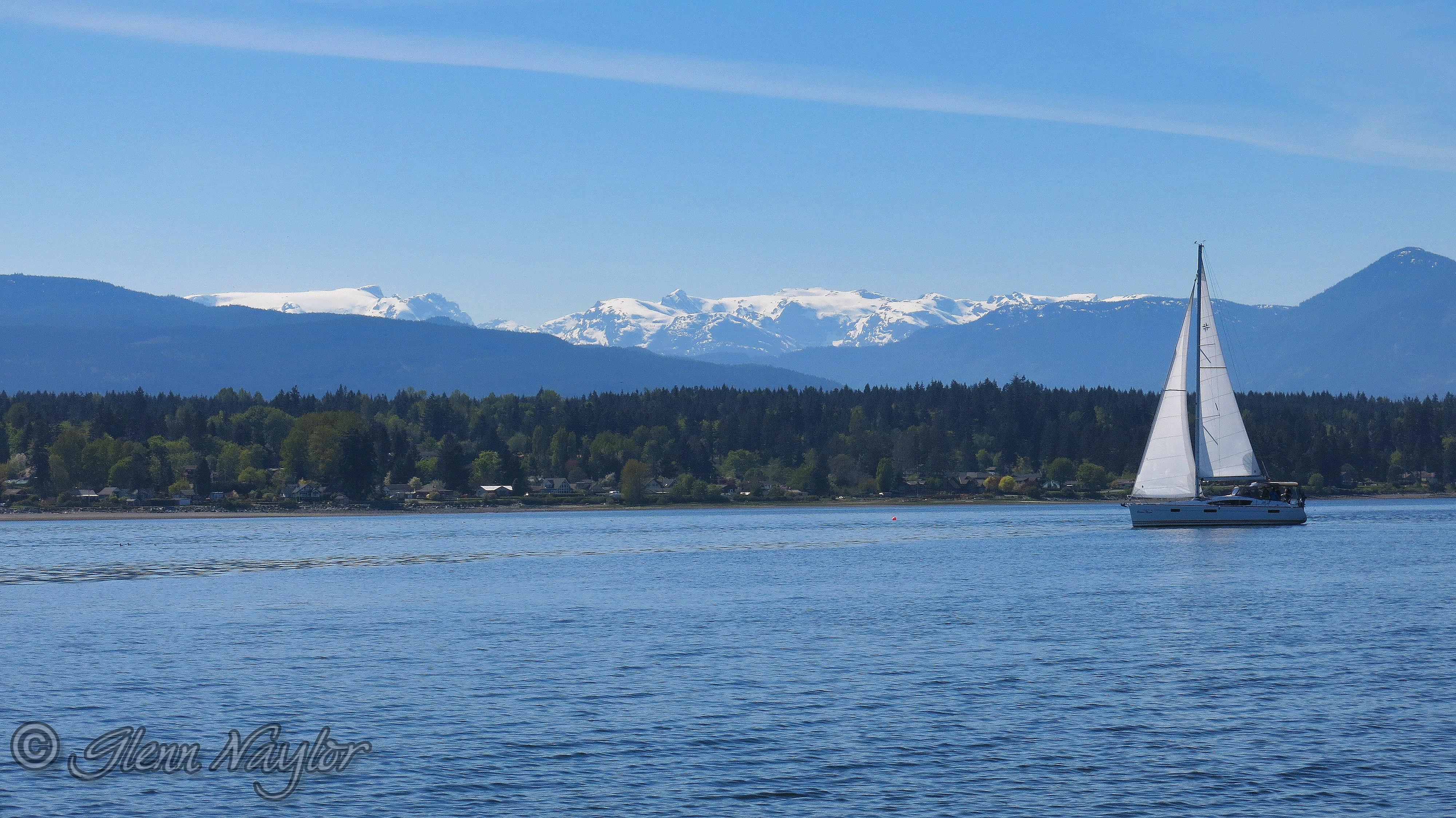 Sailing, Comox Glacier 2