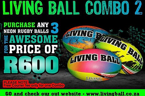 COMBO 2 (Rugby Balls)
