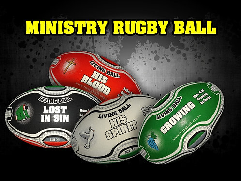 Rugby Message Ball