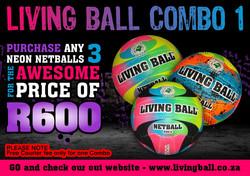 COMBO 1 - NETBALLS