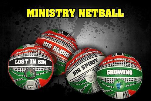 Netball Message Ball