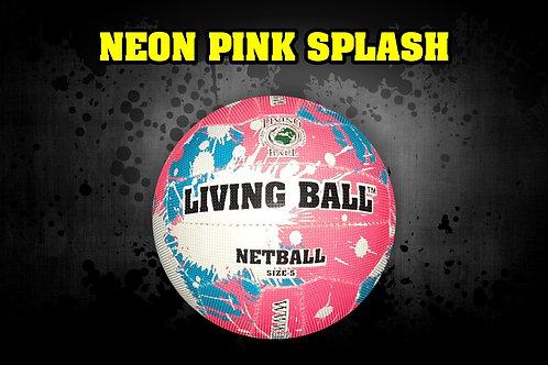 Netball Pink Splash - Nr.4