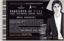 Uriel Pascucci, Concierto Casa Bianchi, San Rafael, Mendoza