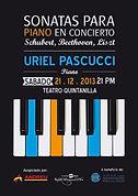 Uriel Pascucci, Teatro Quintanilla, Mendoza